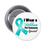 Peritoneal Cancer Ribbon Someone Special Pin