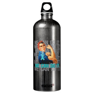 Peritoneal Cancer Rosie WE CAN DO IT SIGG Traveler 1.0L Water Bottle