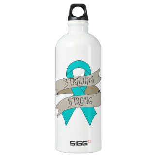 Peritoneal Cancer Standing Strong SIGG Traveler 1.0L Water Bottle