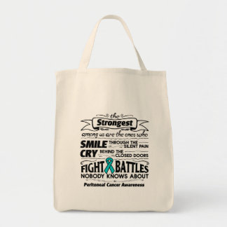 Peritoneal Cancer Strongest Among Us Tote Bag