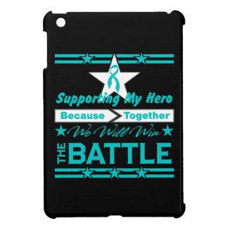 Peritoneal Cancer Supporting My Hero iPad Mini Cover