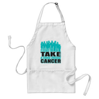 Peritoneal Cancer -Take A Stand Against Cancer Adult Apron
