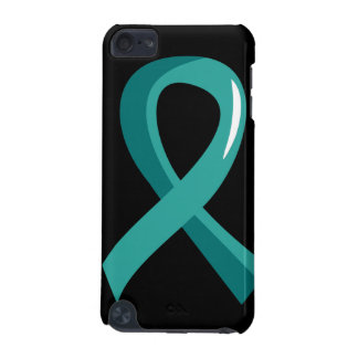 Peritoneal Cancer Teal Ribbon 3 iPod Touch (5th Generation) Cover