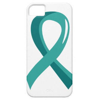 Peritoneal Cancer Teal Ribbon 3 iPhone 5 Cases