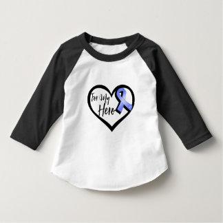 Periwinkle Awareness Ribbon For My Hero Infant T-shirt