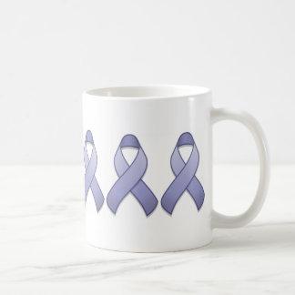 Periwinkle Awareness Ribbon Mug