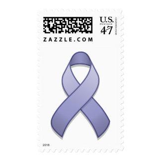 Periwinkle Awareness Ribbon Postage