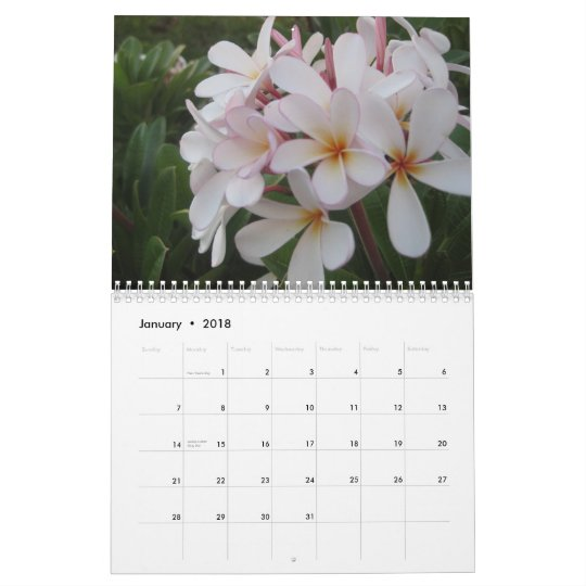 Periwinkle Blossoms Raw Food Calendar