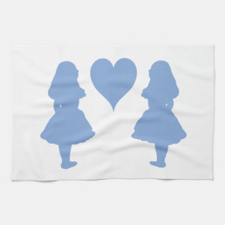 Periwinkle Blue Alice to Alice Kitchen Towels