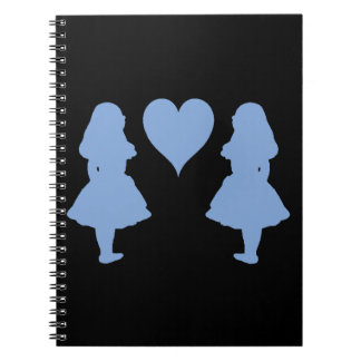 Periwinkle Blue Alice to Alice Notebook