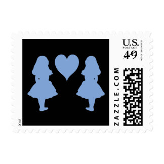 Periwinkle Blue Alice to Alice Postage