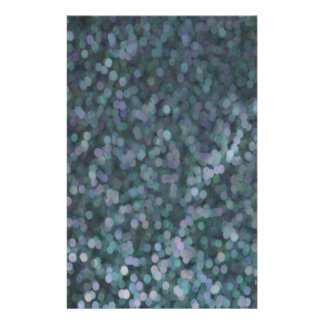 Periwinkle Blue Painted Glitter Shimmer Flyer