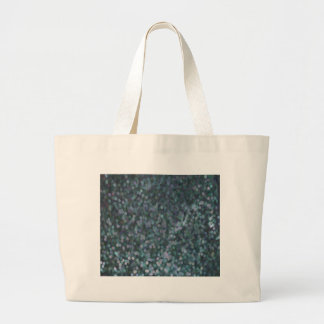 Periwinkle Blue Painted Glitter Shimmer Large Tote Bag