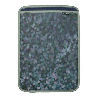 Periwinkle Blue Painted Glitter Shimmer MacBook Air Sleeve