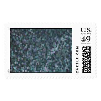 Periwinkle Blue Painted Glitter Shimmer Postage