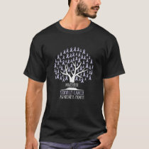 Periwinkle Blue Ribbon Tree, Stomach Cancer Awaren T-Shirt
