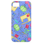 Periwinkle Blue Sewing Notions iPhone Case iPhone 5 Covers