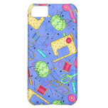 Periwinkle Blue Sewing Notions iPhone Case iPhone 5C Cover
