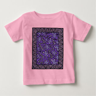 Periwinkle Cell Flashes Baby T-Shirt