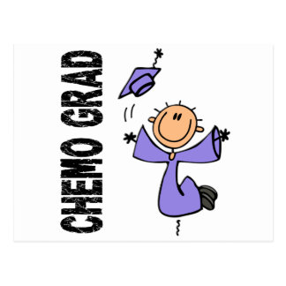 Periwinkle CHEMO GRAD 1 (Esophageal Cancer) Postcard