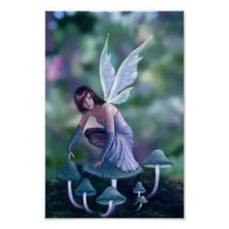Periwinkle Fairy Art Poster Print
