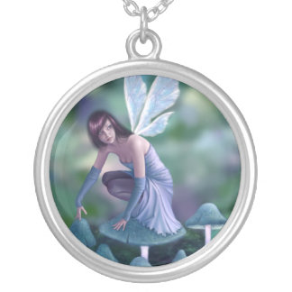 Periwinkle Fairy Necklace