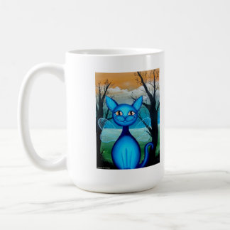 Periwinkle, Fantasy Fairy Kitty Coffee Mug