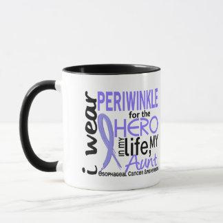 Periwinkle For Hero 2 Aunt Esophageal Cancer Mug