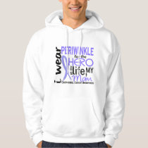 Periwinkle For Hero 2 Mom Esophageal Cancer Hoodie
