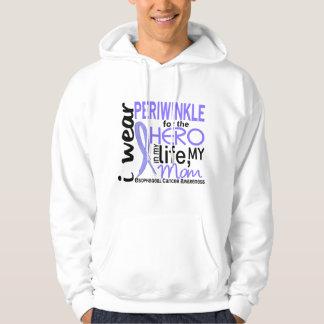 Periwinkle For Hero 2 Mom Esophageal Cancer Hoodie