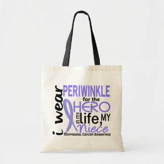Periwinkle For Hero 2 Niece Esophageal Cancer Tote Bag
