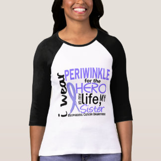Periwinkle For Hero 2 Sister Esophageal Cancer T-Shirt