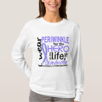 Periwinkle For Hero Grandmother Esophageal Cancer T-Shirt
