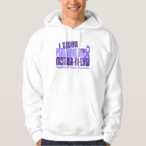 Periwinkle For Mother-In-Law 6.4 Esophageal Cancer Hoodie