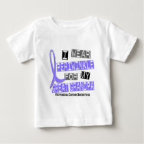 Periwinkle For My Great Grandpa Esophageal Cancer Baby T-Shirt