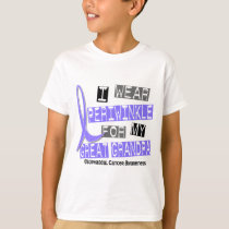 Periwinkle For My Great Grandpa Esophageal Cancer T-Shirt