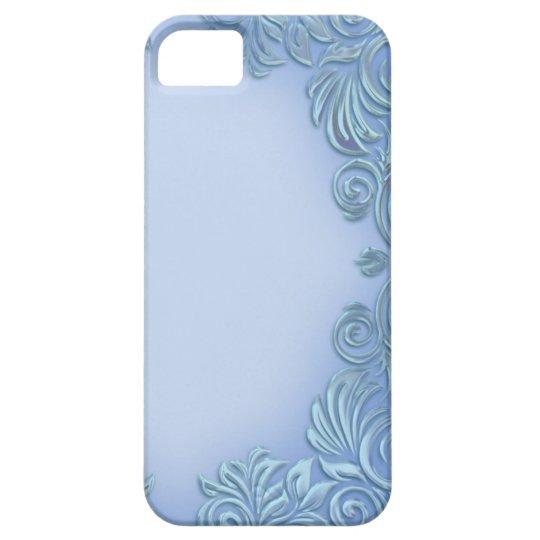Periwinkle-Mauve Foil I-Phone Case
