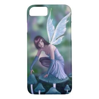 Periwinkle Mushroom Fairy iPhone 7 Case