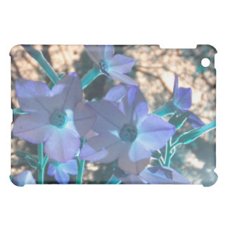 Periwinkle N Teal Nicotiana iPad iPad Mini Case