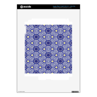 Periwinkle optical illusion decal for iPad 3