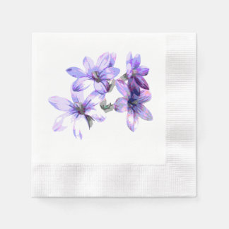 Periwinkle Paper Napkin
