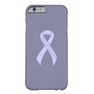 Periwinkle Ribbon Support Awareness Barely There iPhone 6 Case