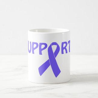 Periwinkle Ribbon Support! Coffee Mug