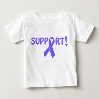 Periwinkle Ribbon Support! Infant T-shirt