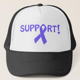 Periwinkle Ribbon Support! Trucker Hat