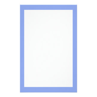 Periwinkle Solid Color Stationery