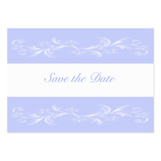 Periwinkle Sweet Floral Save The Date Cards