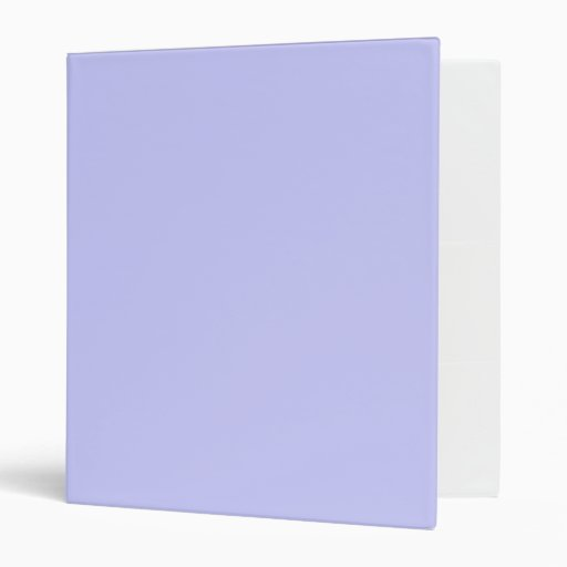 Periwinkle Vinyl Binder