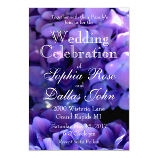 Periwinkle Wedding collection Card
