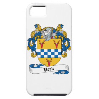 Perk Family Crest iPhone 5 Covers